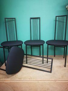 galettes de chaises finies