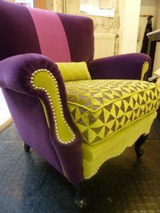 siège patchwork