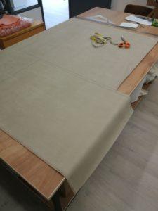 Plan de coupe tissu
