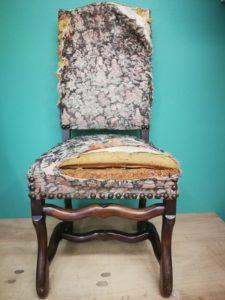 Chaise Louis XIII AVANT