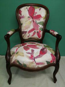 Réfection fauteuils Louis philippe
