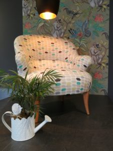 Fauteuil crapaud showroom compo 1
