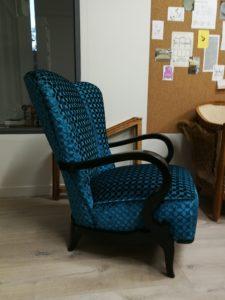 fauteuil art déco après profil