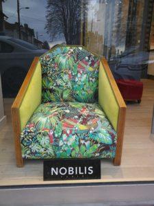 Virtine fauteuil année 30